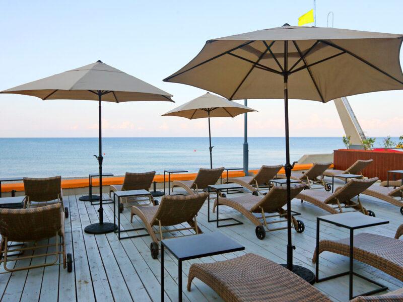Пляж Adagio Le Rond Sochi